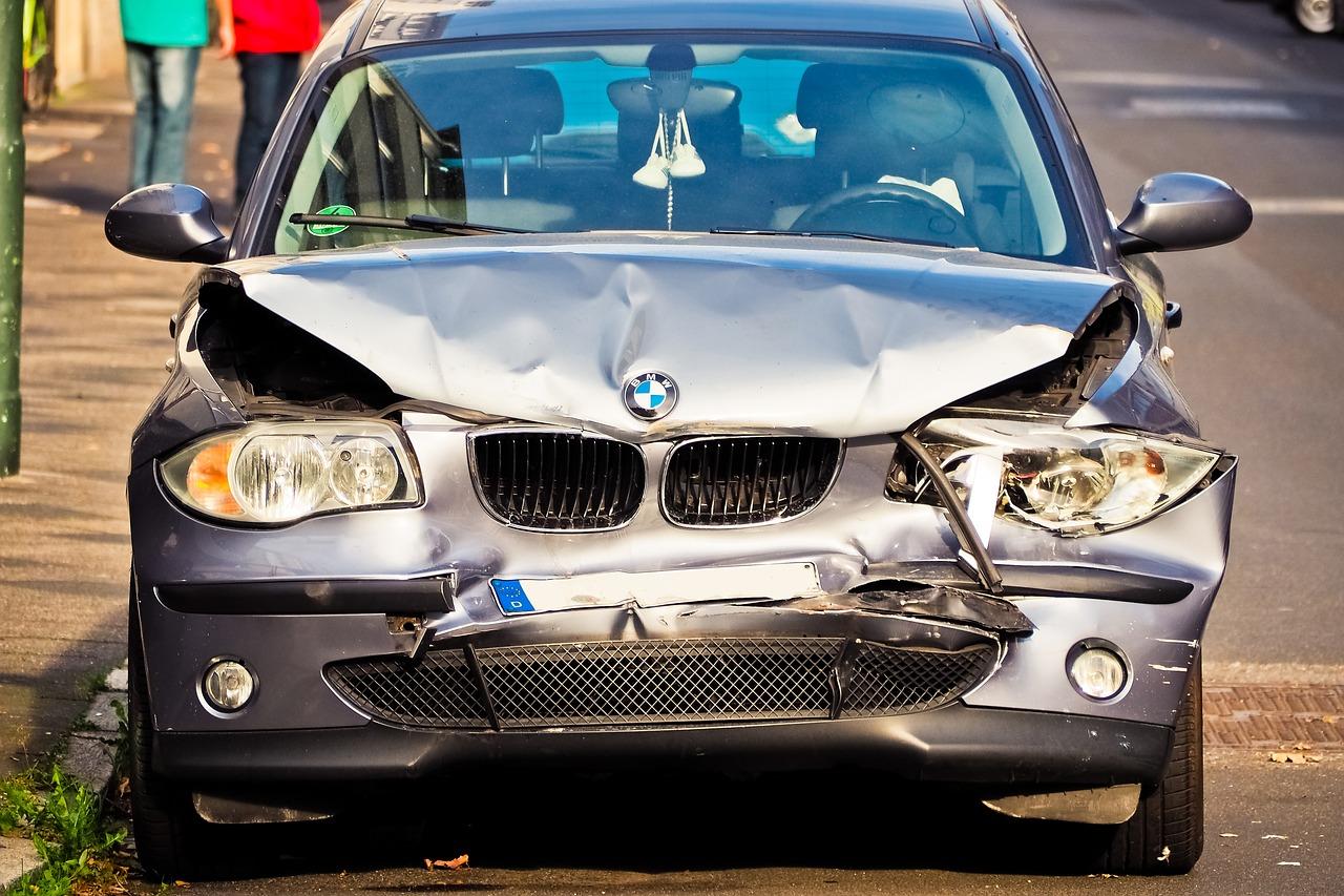 Wypadek - samochód